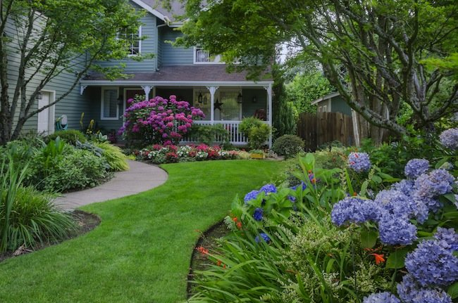 diy front yard landscaping ideas for summer on a budget home