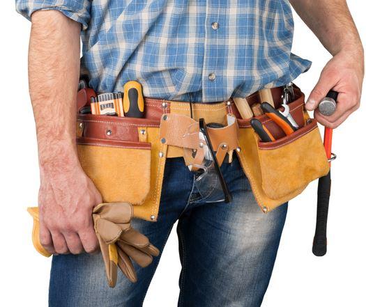 tool belt used for framing
