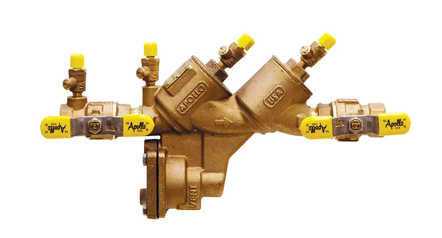 Outdoor Irrigation Backflow Preventer