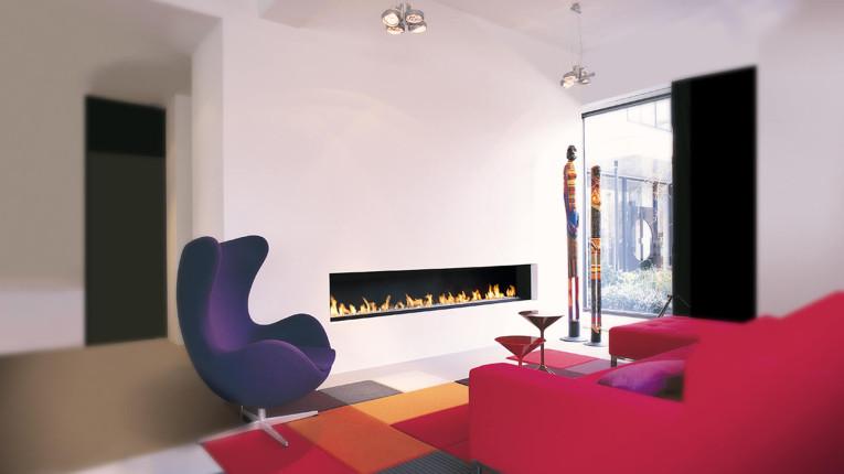 Lounge Friendly Fireplace
