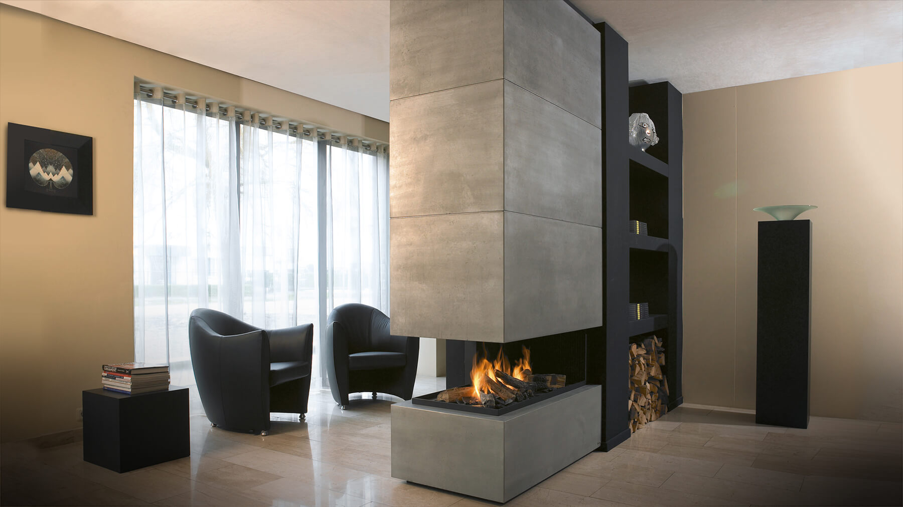5 Customized Designer Fireplaces That Will Fit Your Style Home