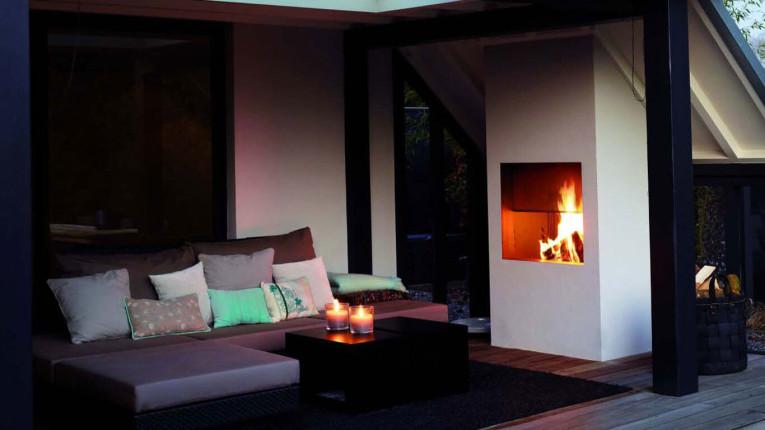 Wood or Gas design
