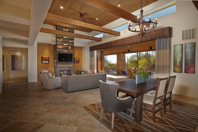 Mixture of Modern Rustic Materials