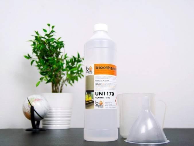 High quality bioethanol fuel 96,6 %