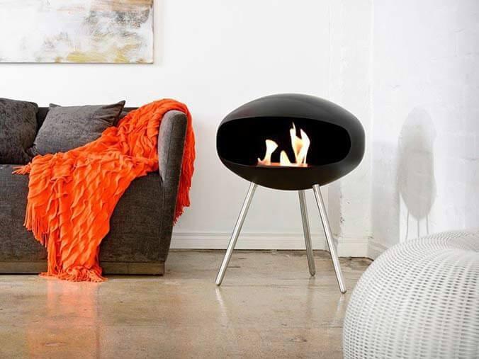 Free-standing Bioethanol Fireplaces