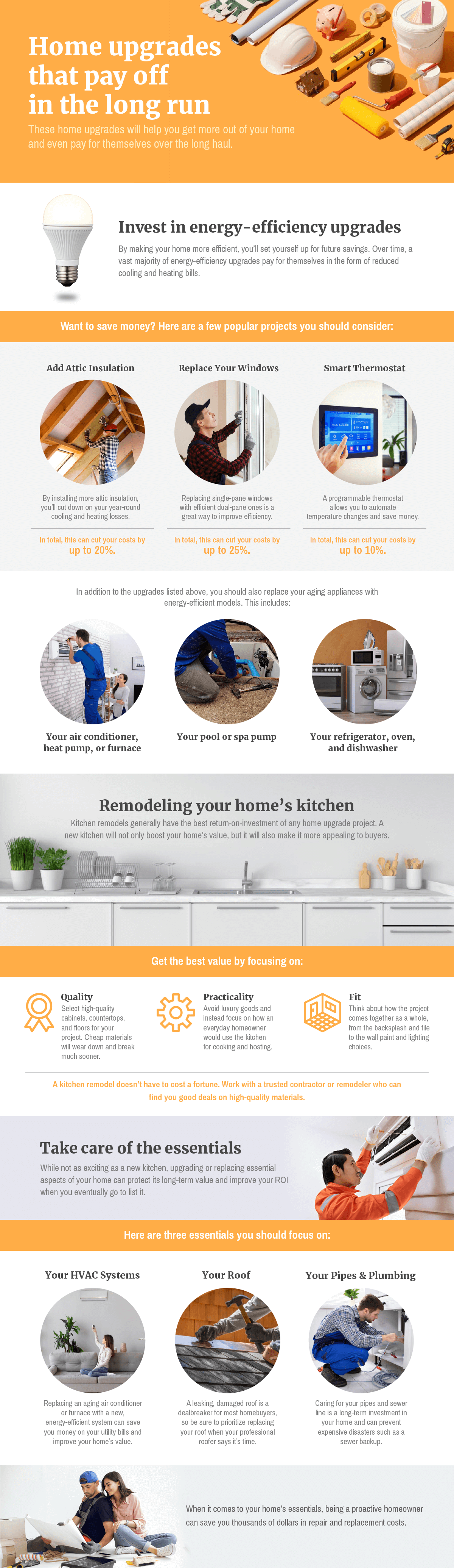 home upgrades that pay off