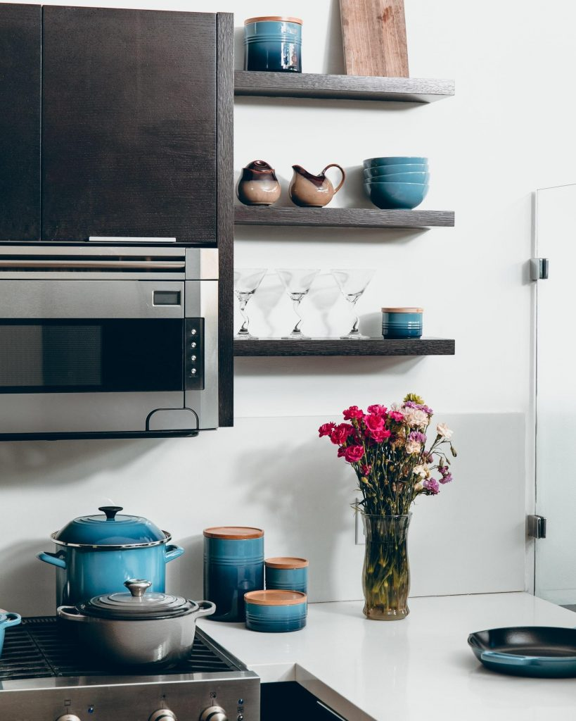 Kitchen Design With Open Shelving
