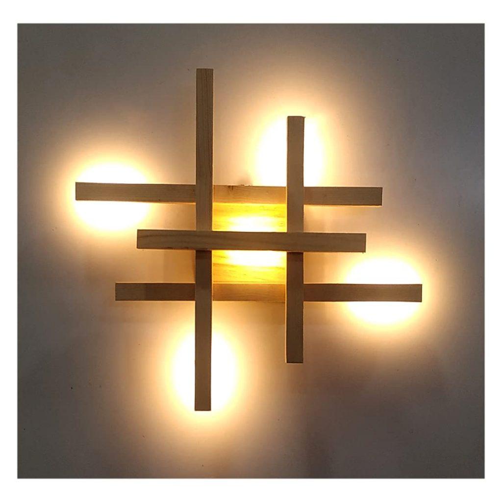 Artica Wooden Warm Lighting Fixtures