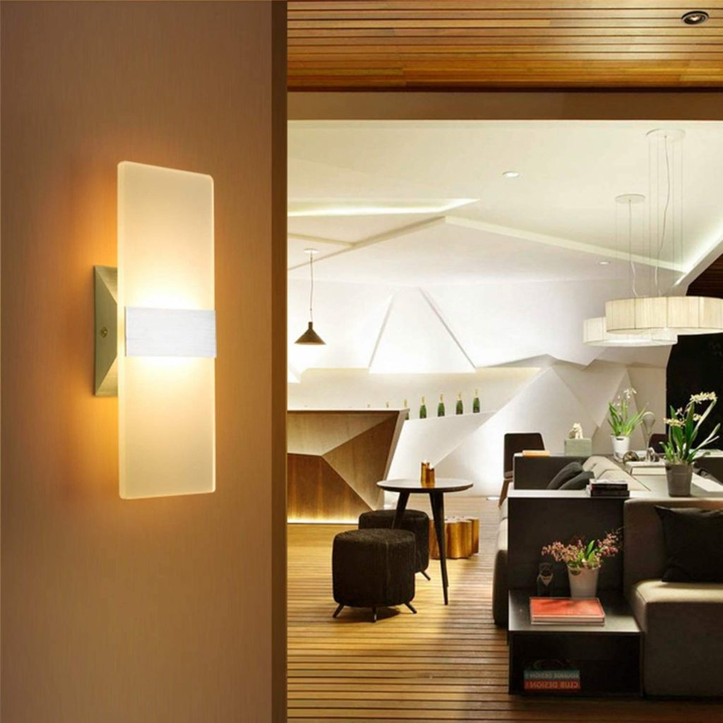 VRCT LED Wall Sconce Lighting Fixture Lamps