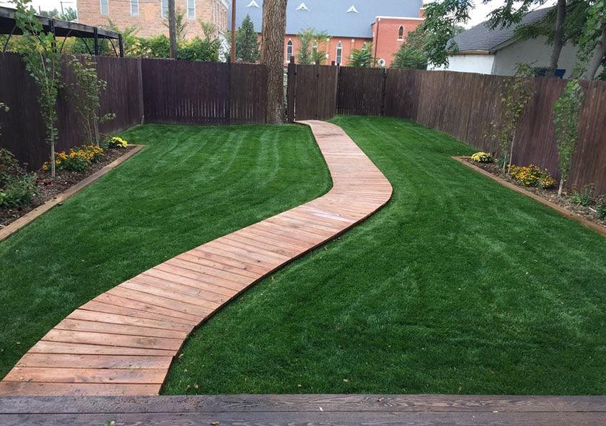 Backyard Walkway Ideas