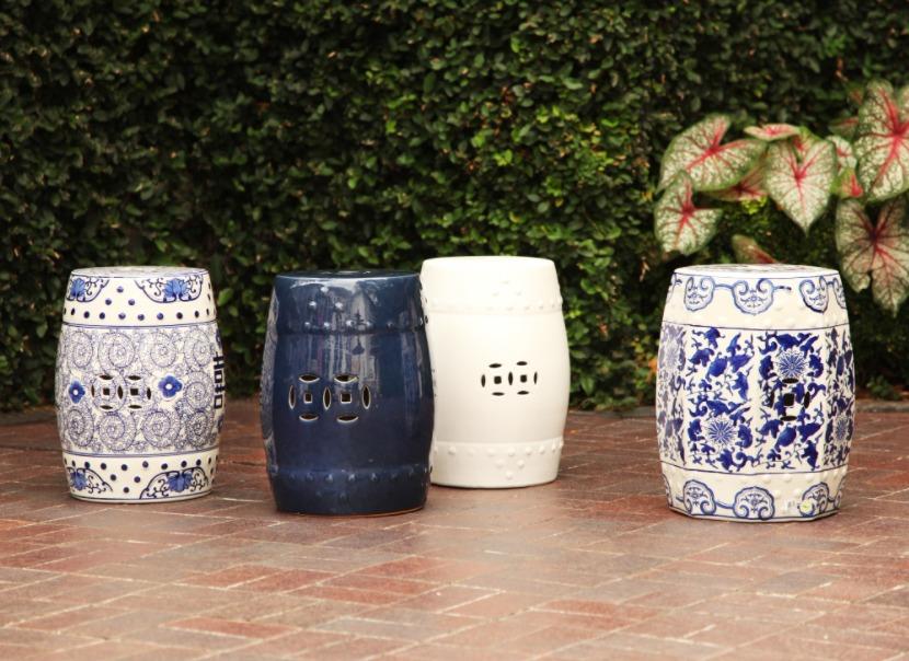 Buy Ceramic Garden Stool