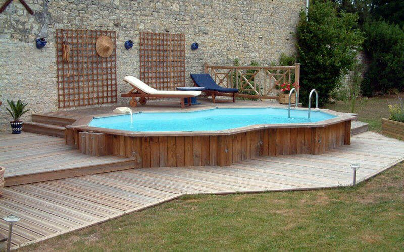 above ground pool deck ideas on budget 21