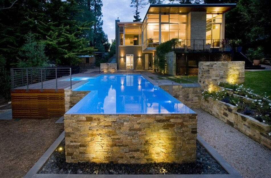 above ground pool deck ideas on budget 22