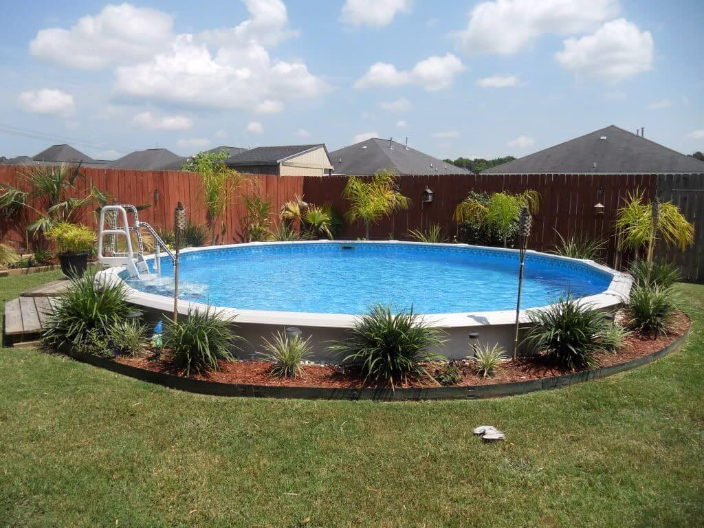 above ground pool deck ideas on budget 24 1