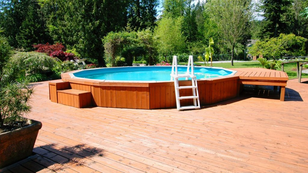 Affordable Above Ground Pool Deck