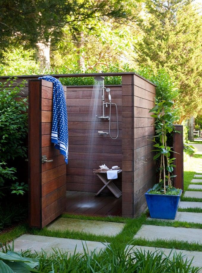 cheap diy outdoor solar shower ideas 7