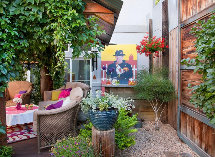 Choosing Less Expensive Paving Materials Backyard Deck Ideas On a Budget