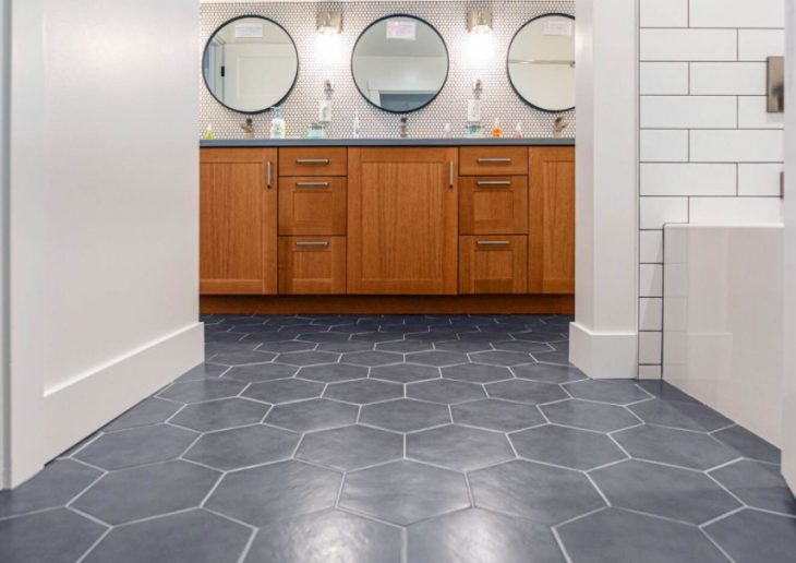 Illusion of a Bigger Space With Tiles
