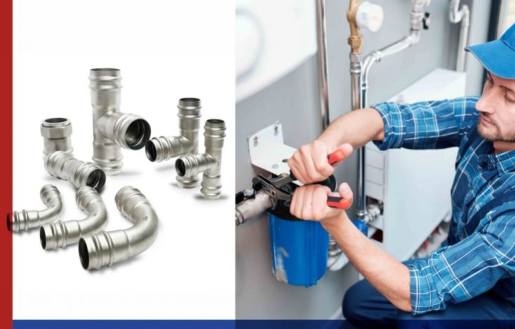 stainless steel plumbing system