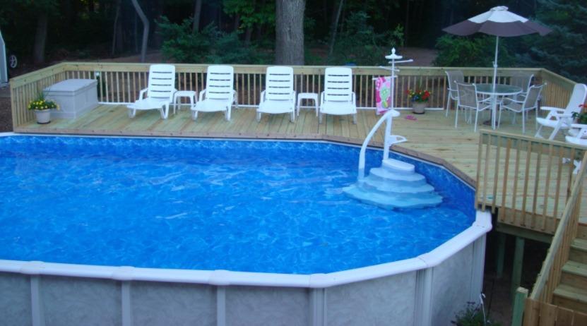 DIY Above Ground Swimming Pool Installation Ideas