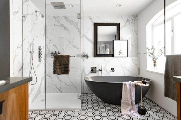 New Bathroom Yourself - DIY Ideas