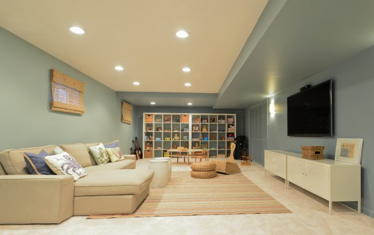 basement finishing to sell home