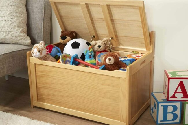 How to Build Your Own Toy Box