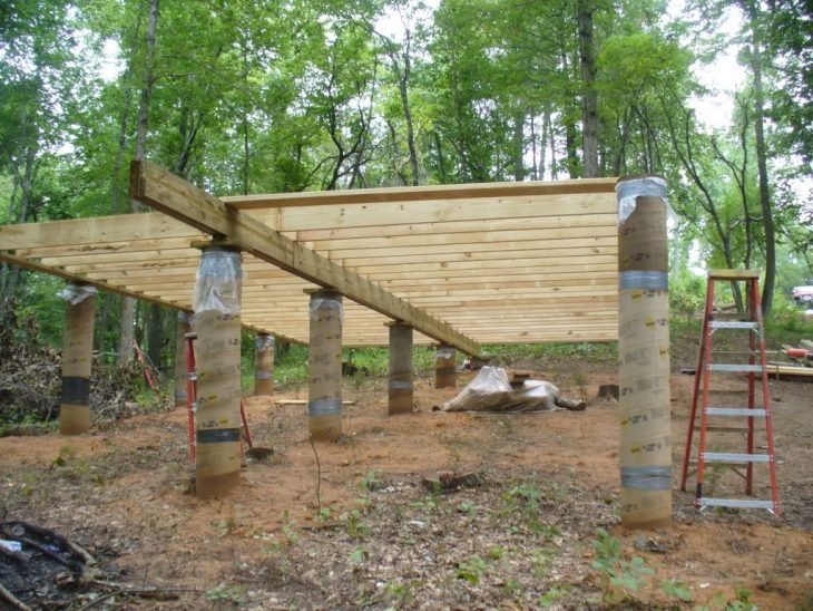 How to Properly Install Pier Footings