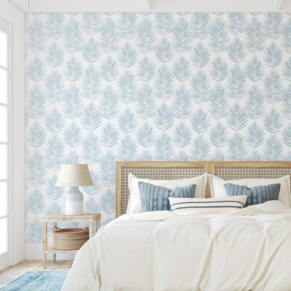 diy floral wallpaper ideas
